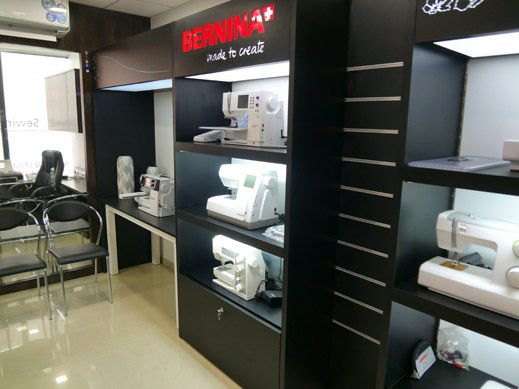 Picture: BERNINA India Showroom and BERNINA Creative Center  3/21