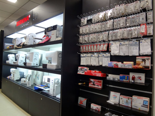 Picture: BERNINA India Showroom and BERNINA Creative Center  4/21