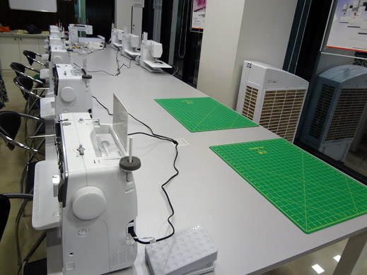 Picture: BERNINA India Showroom and BERNINA Creative Center  6/21