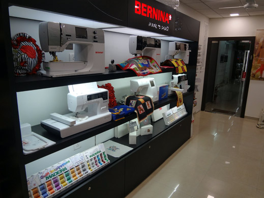Picture: BERNINA India Showroom and BERNINA Creative Center  7/21