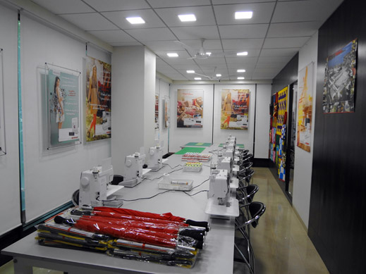 Picture: BERNINA India Showroom and BERNINA Creative Center  8/21