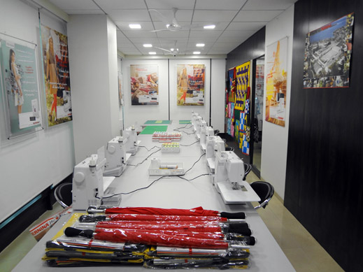 Picture: BERNINA India Showroom and BERNINA Creative Center  9/21