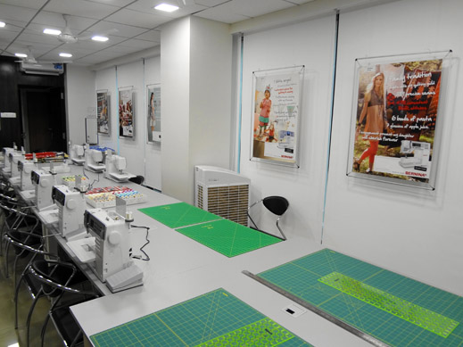 Picture: BERNINA India Showroom and BERNINA Creative Center  10/21