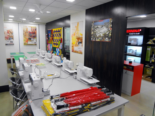 Picture: BERNINA India Showroom and BERNINA Creative Center  11/21