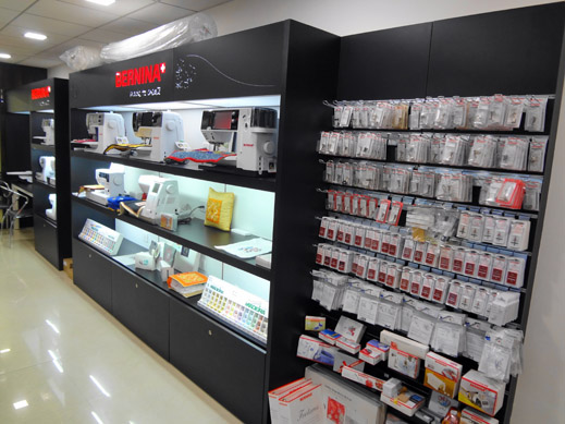 Picture: BERNINA India Showroom and BERNINA Creative Center  12/21