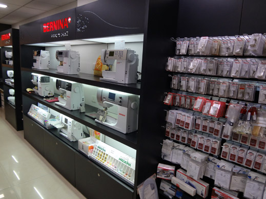 Picture: BERNINA India Showroom and BERNINA Creative Center  17/21