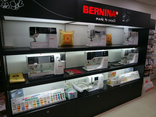 Picture: BERNINA India Showroom and BERNINA Creative Center  18/21