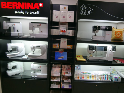 Picture: BERNINA India Showroom and BERNINA Creative Center  19/21