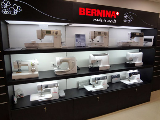 Picture: BERNINA India Showroom and BERNINA Creative Center  15/21