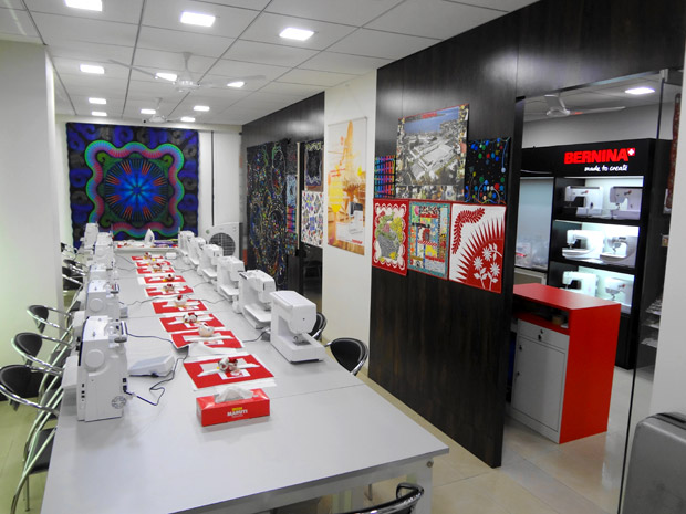 Picture: BERNINA India Showroom and BERNINA Creative Center  21/21