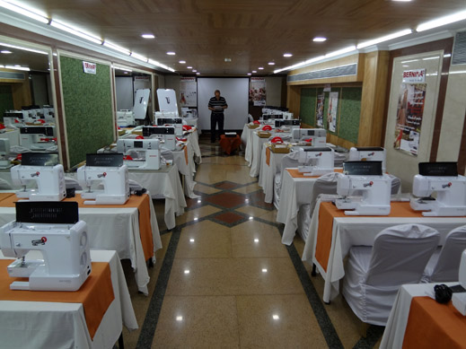 Picture: BERNINA India dealer product and technical training seminar  1/37
