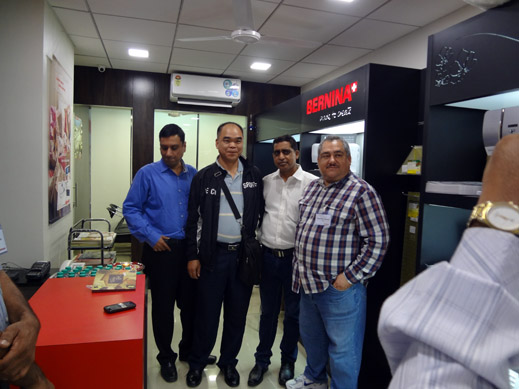 Picture: BERNINA India dealer product and technical training seminar  4/37