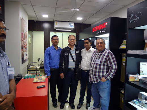 Picture: BERNINA India dealer product and technical training seminar  5/37