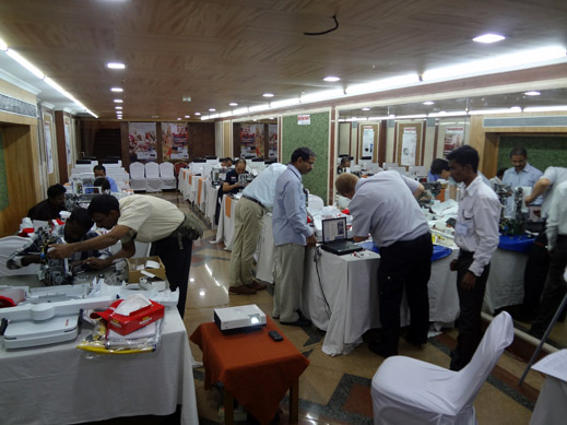 Picture: BERNINA India dealer product and technical training seminar  8/37