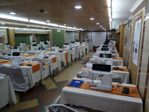 Picture: BERNINA India dealer product and technical training seminar  17/37