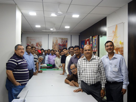 Picture: BERNINA India dealer product and technical training seminar  19/37