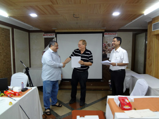 Picture: BERNINA India dealer product and technical training seminar  21/37