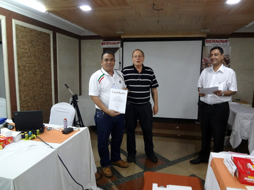 Picture: BERNINA India dealer product and technical training seminar  23/37