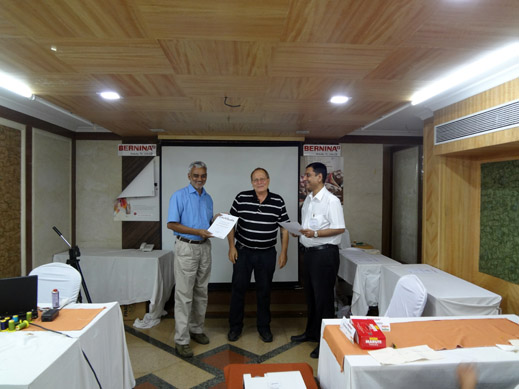 Picture: BERNINA India dealer product and technical training seminar  27/37
