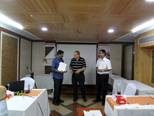 Picture: BERNINA India dealer product and technical training seminar  28/37