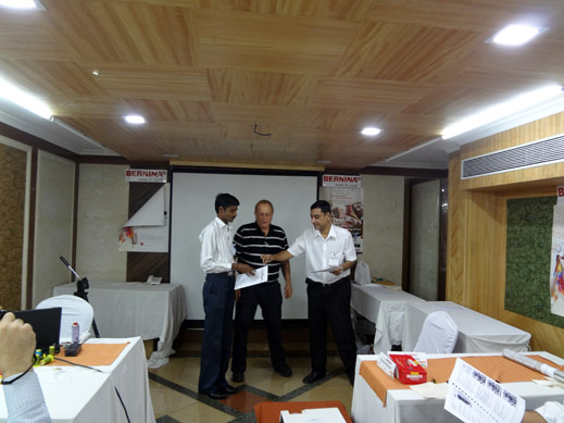 Picture: BERNINA India dealer product and technical training seminar  31/37