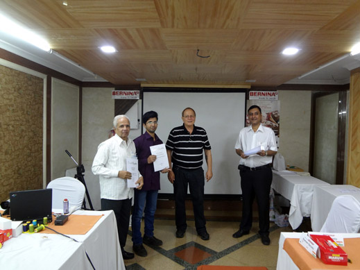 Picture: BERNINA India dealer product and technical training seminar  34/37