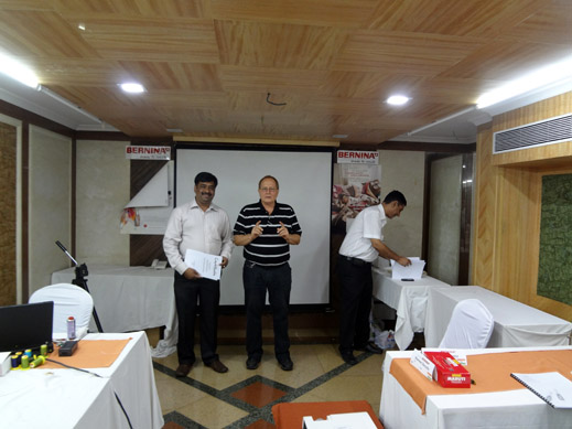 Picture: BERNINA India dealer product and technical training seminar  36/37