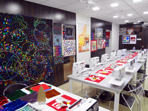 Picture: BERNINA Event 2014 and Quilting Workshops with Keiko Ike  35/59