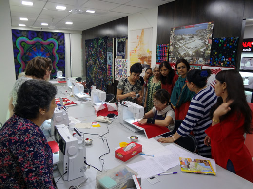 Picture: BERNINA Event 2014 and Quilting Workshops with Keiko Ike  37/59