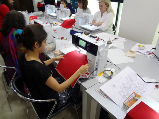 Picture: BERNINA Event 2014 and Quilting Workshops with Keiko Ike  39/59