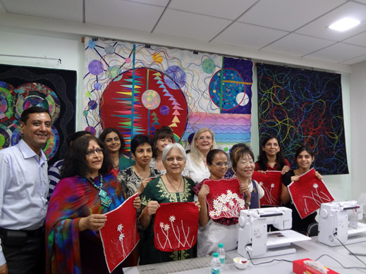 Picture: BERNINA Event 2014 and Quilting Workshops with Keiko Ike  41/59