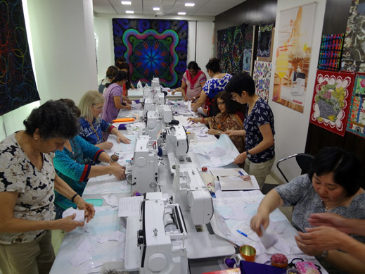 Picture: BERNINA Event 2014 and Quilting Workshops with Keiko Ike  42/59