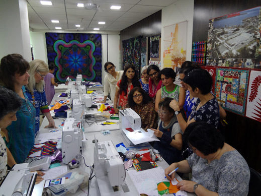 Picture: BERNINA Event 2014 and Quilting Workshops with Keiko Ike  44/59