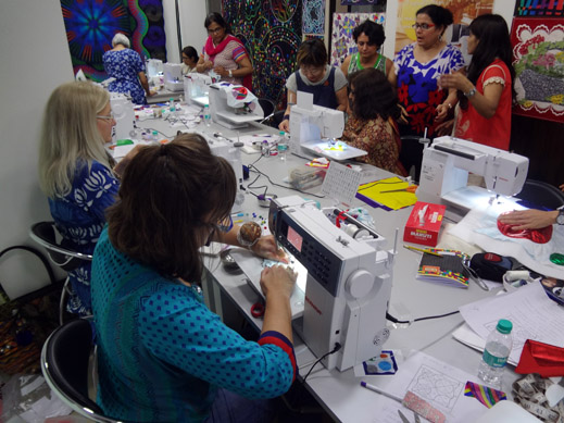Picture: BERNINA Event 2014 and Quilting Workshops with Keiko Ike  45/59