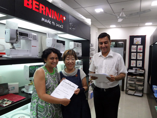Picture: BERNINA Event 2014 and Quilting Workshops with Keiko Ike  46/59