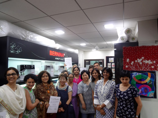 Picture: BERNINA Event 2014 and Quilting Workshops with Keiko Ike  58/59