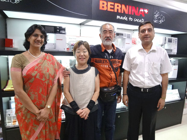 Picture: BERNINA Event 2014 and Quilting Workshops with Keiko Ike  59/59