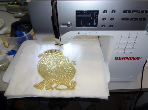 Picture: BERNINA workshop with Paramjeet Bawa at the BERNINA Creative Center  9/24