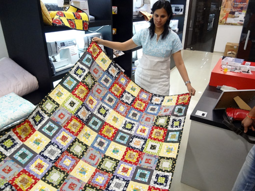 Picture: Get Creative ! Join the NEW patchwork,quilting and embroidery courses and workshops at the BERNINA C  10/139