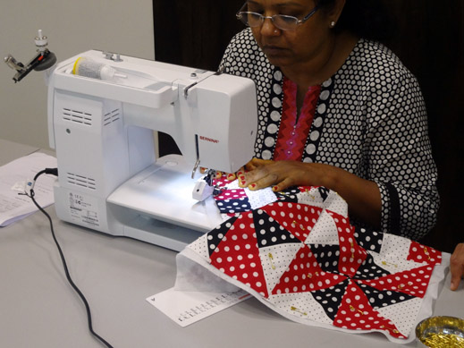 Picture: Get Creative ! Join the NEW patchwork,quilting and embroidery courses and workshops at the BERNINA C  22/139