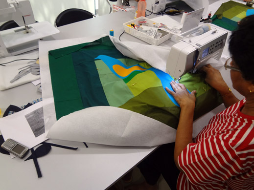 Picture: Get Creative ! Join the NEW patchwork,quilting and embroidery courses and workshops at the BERNINA C  35/139