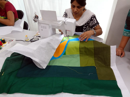 Picture: Get Creative ! Join the NEW patchwork,quilting and embroidery courses and workshops at the BERNINA C  40/139