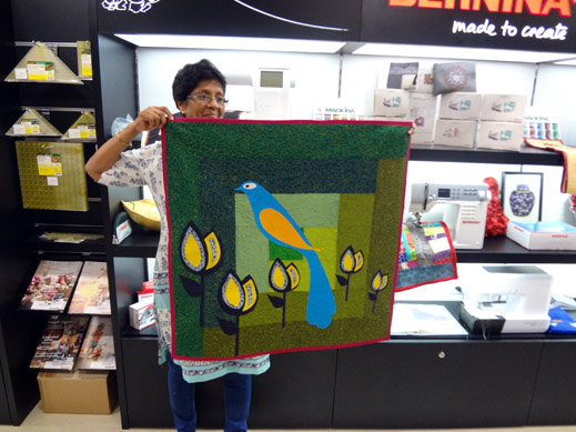 Picture: Get Creative ! Join the NEW patchwork,quilting and embroidery courses and workshops at the BERNINA C  49/139