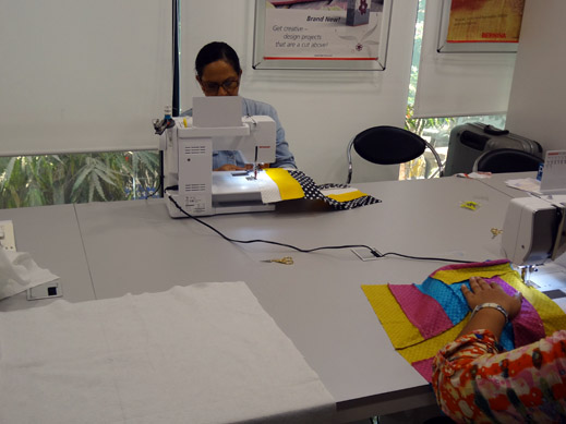 Picture: Get Creative ! Join the NEW patchwork,quilting and embroidery courses and workshops at the BERNINA C  54/139