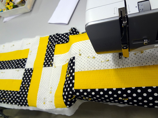 Picture: Get Creative ! Join the NEW patchwork,quilting and embroidery courses and workshops at the BERNINA C  58/139