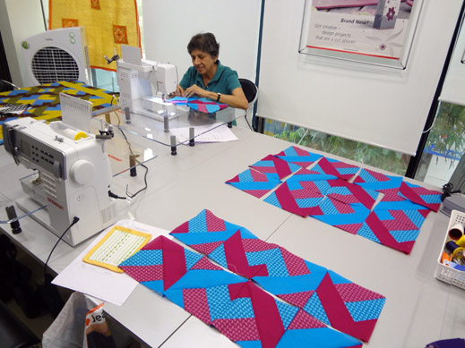Picture: Get Creative ! Join the NEW patchwork,quilting and embroidery courses and workshops at the BERNINA C  70/139