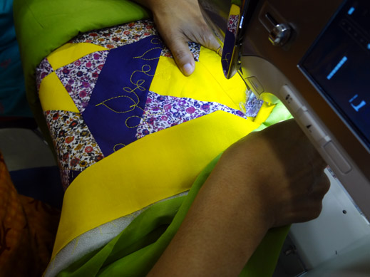 Picture: Get Creative ! Join the NEW patchwork,quilting and embroidery courses and workshops at the BERNINA C  77/139
