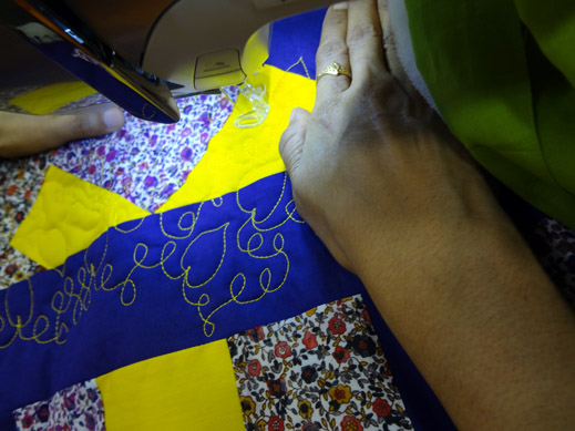 Picture: Get Creative ! Join the NEW patchwork,quilting and embroidery courses and workshops at the BERNINA C  78/139