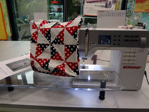 Picture: Get Creative ! Join the NEW patchwork,quilting and embroidery courses and workshops at the BERNINA C  90/139