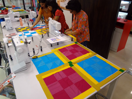 Picture: Get Creative ! Join the NEW patchwork,quilting and embroidery courses and workshops at the BERNINA C  108/139